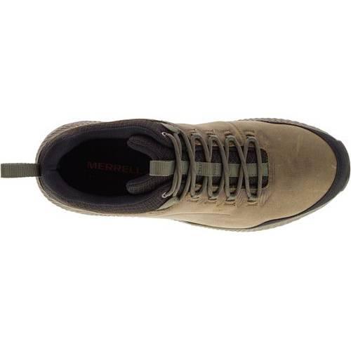 MERRELL スニーカー 運動靴 MEN'S スニーカー 【 MERRELL FORESTBOUND LOW WATERPROOF HIKING SHOES CLOUDY 】 メンズ スニーカー