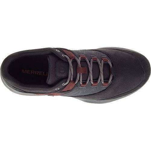 MERRELL スニーカー 運動靴 黒 ブラック MEN'S スニーカー 【 BLACK MERRELL ZION HIKING SHOES 】 メンズ スニーカー