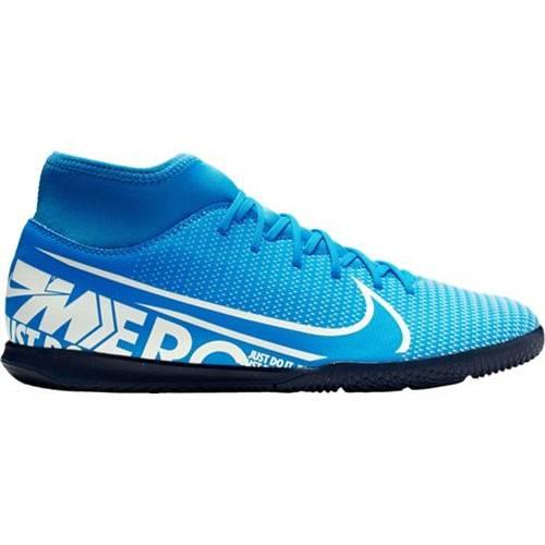 ナイキ NIKE クラブ サッカー スニーカー 運動靴 メンズ 【 Mercurial Superfly 7 Club Indoor Soccer Shoes 】 Blue/white