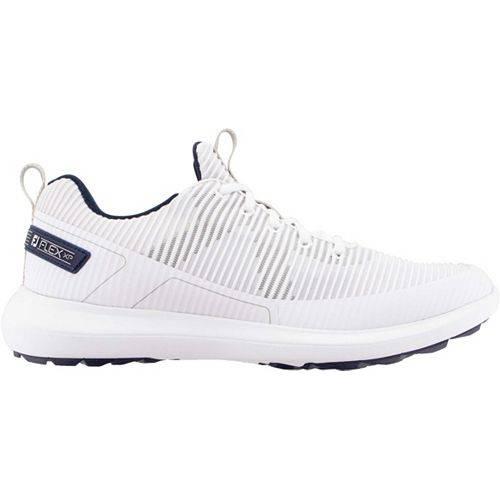FOOTJOY メンズ ゴルフ スニーカー 運動靴 【 Mens Flex Xp Golf Shoes 】 White
