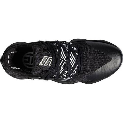 アディダス ADIDAS ハーデン バスケットボール スニーカー 運動靴 黒 ブラック 白 ホワイト VOL. スニーカー 【 BLACK WHITE ADIDAS HARDEN 4 BASKETBALL SHOES 】 メンズ スニーカー