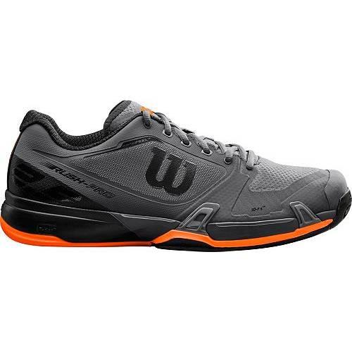 ウィルソン WILSON メンズ ラッシュ プロ テニス スニーカー 運動靴 2.5 【 Mens Rush Pro 2.5 Tennis Shoes 】 Black/orange