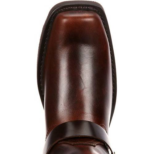 デュランゴ DURANGO メンズ 茶 ブラウン スニーカー 【 Mens Brown Harness Western Boots 】 Brown