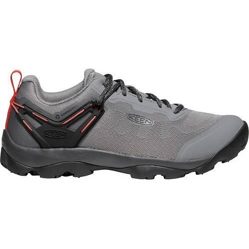 KEEN メンズ スニーカー 運動靴 【 Mens Venture Vent Hiking Shoes 】 Steel Grey/burnt Ochre