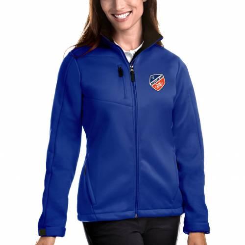 【★スーパーセール中★ 6/11深夜2時迄】ANTIGUA レディース シンシナティ 【 Womens Fc Cincinnati Traverse Royal Full-zip Jacket 】 Color
