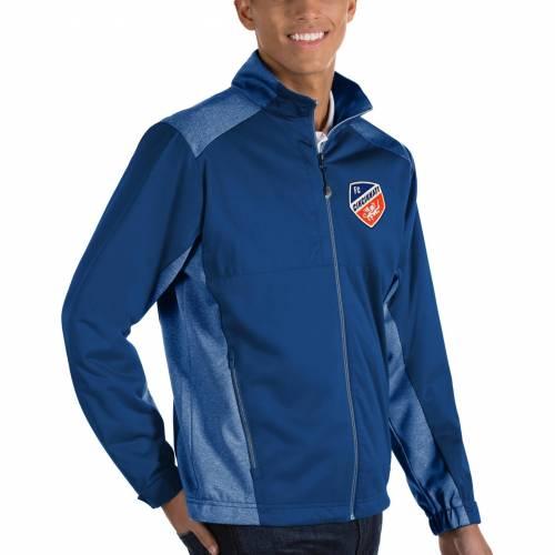 ANTIGUA シンシナティ MEN'S 【 ANTIGUA FC CINCINNATI REVOLVE ROYAL FULLZIP JACKET COLOR 】 メンズファッション コート ジャケット