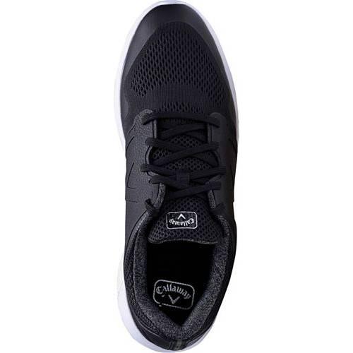 キャロウェイ CALLAWAY ゴルフ スニーカー 運動靴 黒 ブラック MEN'S スニーカー 【 GOLF BLACK CALLAWAY SOLANA XT SHOES 】 メンズ スニーカー