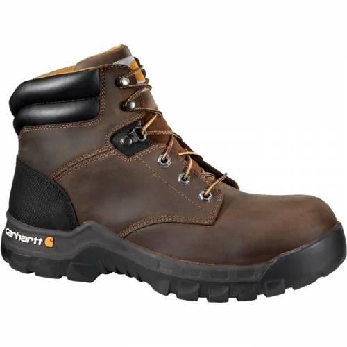カーハート CARHARTT メンズ ブーツ 【 Mens Workflex 6 Work Boots 】 Brown Oil Tanned