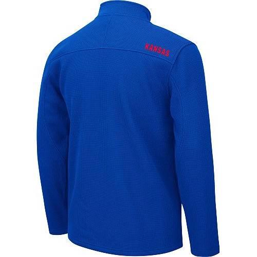 COLOSSEUM カンザス 青 ブルー MEN'S 【 BLUE COLOSSEUM KANSAS JAYHAWKS WILLIE FULLZIP JACKET COLOR 】 メンズファッション コート ジャケット