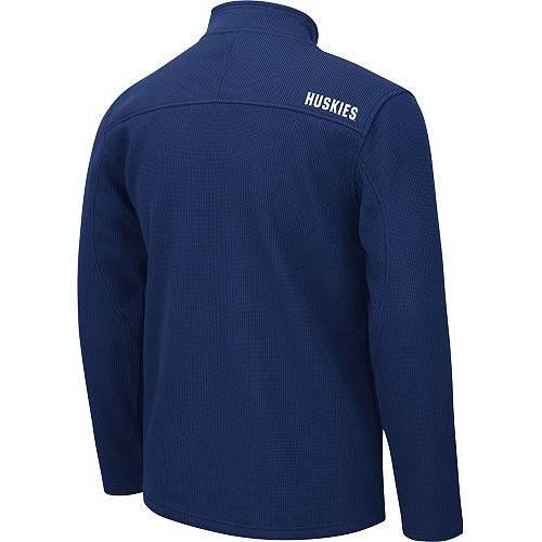 COLOSSEUM コネチカット 青 ブルー MEN'S 【 BLUE COLOSSEUM UCONN HUSKIES WILLIE FULLZIP JACKET COLOR 】 メンズファッション コート ジャケット