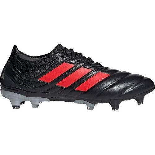 アディダス ADIDAS メンズ サッカー 19.1 スニーカー 【 Mens Copa 19.1 Fg Soccer Cleats 】 Black/red