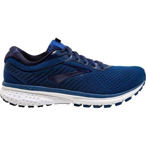ブルックス BROOKS スニーカー 運動靴 青 ブルー MEN'S スニーカー 【 BLUE BROOKS GHOST 12 RUNNING SHOES 】 メンズ スニーカー
