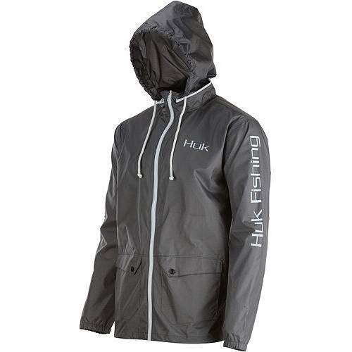 HUK 白 ホワイト MEN'S 【 WHITE HUK BREAKER JACKET IRON 】 メンズファッション コート ジャケット