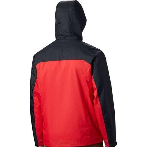 コロンビア COLUMBIA MEN'S 【 COLUMBIA GEORGIA BULLDOGS BLACK RED GLENNAKER STORM JACKET COLOR 】 メンズファッション コート ジャケット