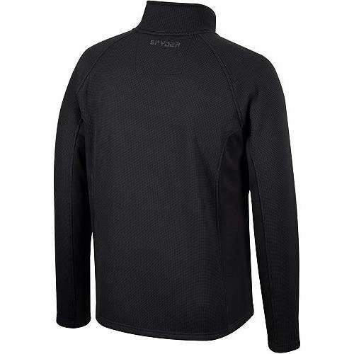 SPYDER アラバマ 黒 ブラック MEN'S 【 BLACK SPYDER ALABAMA CRIMSON TIDE CONSTANT FULLZIP JACKET COLOR 】 メンズファッション コート ジャケット