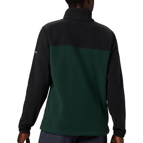 コロンビア COLUMBIA ミシガン スケートボード 緑 グリーン フリース MEN'S 【 STATE GREEN COLUMBIA MICHIGAN SPARTANS FLANKER FULLZIP FLEECE JACKET COLOR 】 メンズファッション コート ジャケット