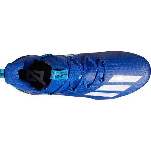 アディダス ADIDAS アディゼロ 黒 ブラック MEN'S スニーカー 【 BLACK ADIDAS ADIZERO FOOTBALL CLEATS ROYAL 】 メンズ スニーカー