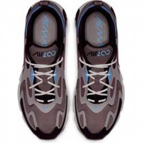 ナイキ NIKE エア マックス スニーカー 運動靴 MEN'S スニーカー 【 AIR NIKE MAX 200 SHOES PLUM ECLIPSE UNIV BLU PUM 】 メンズ スニーカー