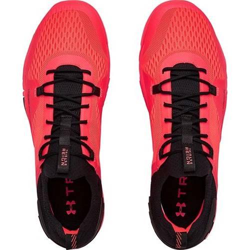 アンダーアーマー UNDER ARMOUR トレーニング スニーカー 運動靴 赤 レッド 黒 ブラック MEN'S スニーカー 【 RED BLACK UNDER ARMOUR TRIBASE REIGN 2 TRAINING SHOES 】 メンズ スニーカー