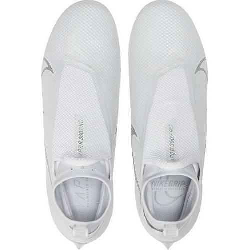 ナイキ NIKE プロ 白 ホワイト MEN'S スニーカー 【 WHITE NIKE VAPOR EDGE PRO 360 FOOTBALL CLEATS CHROME 】 メンズ スニーカー