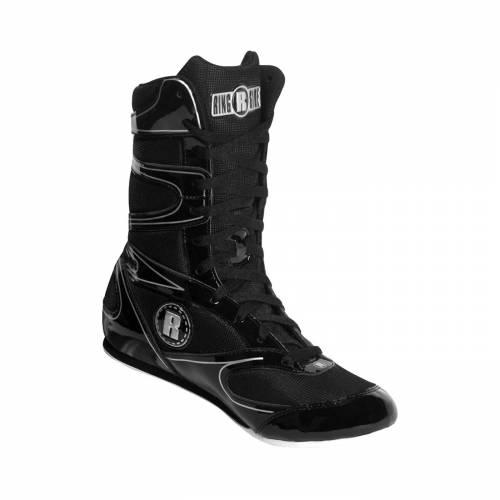 RINGSIDE スニーカー 運動靴 黒 ブラック MEN'S スニーカー 【 BLACK RINGSIDE UNDEFEATED BOXING SHOES 】 メンズ スニーカー