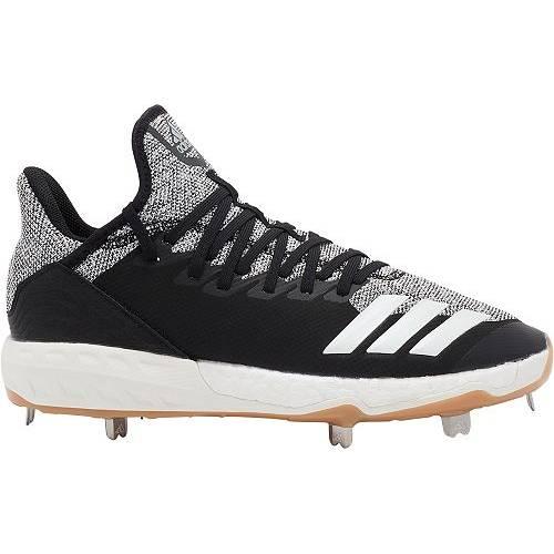 アディダス ADIDAS メンズ アイコン メタル ベースボール スニーカー 【 Mens Icon 4 Metal Baseball Cleats 】 Black/grey