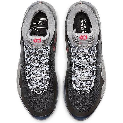 ナイキ NIKE バスケットボール スニーカー 運動靴 黒 ブラック 白 ホワイト スニーカー 【 BLACK WHITE NIKE KD 12 BASKETBALL SHOES 】 メンズ スニーカー