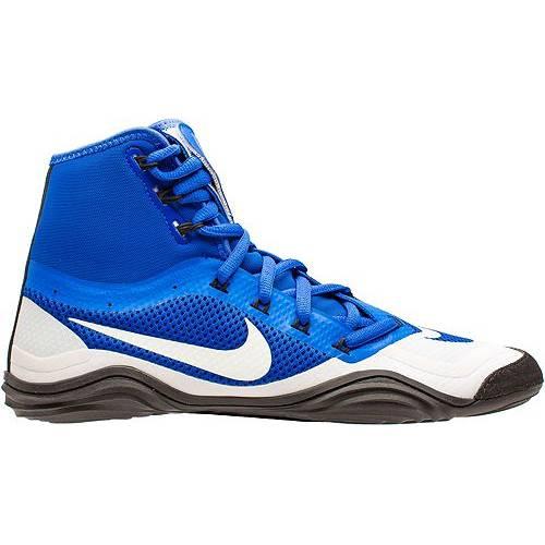 ナイキ NIKE メンズ スニーカー 運動靴 【 Mens Hypersweep Wrestling Shoes 】 Blue/white