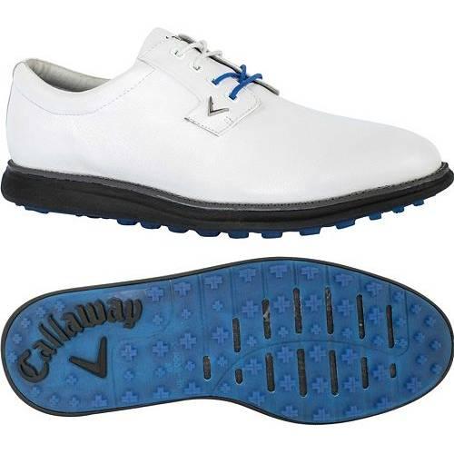 キャロウェイ CALLAWAY メンズ ゴルフ スニーカー 運動靴 【 Mens Swami Golf Shoes 】 White/black