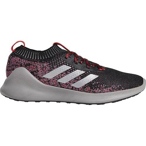 アディダス ADIDAS ルーナー ルナー MEN'S PUREBOUNCE+ スニーカー 【 LUNAR NEW YEAR RUNNING SHOES GREY SILVER RED 】 メンズ 送料無料