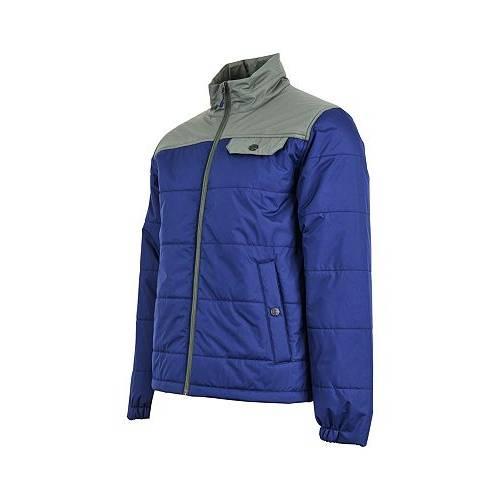 UNITED BY BLUE 青 ブルー MEN'S 【 BLUE UNITED BY BISON PUFFER JACKET MIDNIGHT 】 メンズファッション コート ジャケット