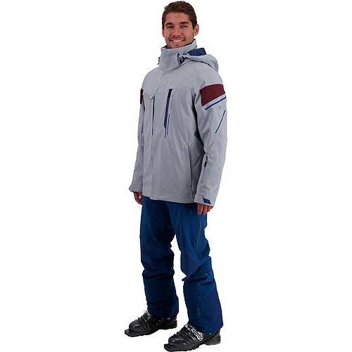 OBERMEYER MEN'S 【 OBERMEYER KENAI JACKET ANCHOR 】 メンズファッション コート ジャケット