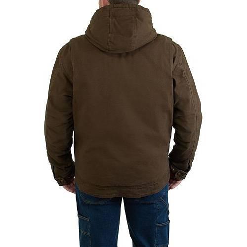 WOLVERINE MEN'S 【 WOLVERINE LOCKHART HOODED JACKET DARK BISON 】 メンズファッション コート ジャケット
