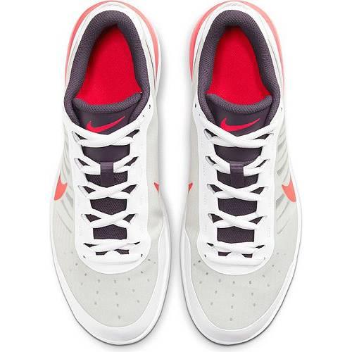 ナイキ NIKE エア マックス テニス スニーカー 運動靴 白 ホワイト 赤 レッド MEN'S スニーカー 【 AIR WHITE RED NIKE NIKECOURT MAX VAPOR WING MS TENNIS SHOES 】 メンズ スニーカー