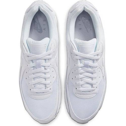 ナイキ NIKE エア マックス スニーカー 運動靴 白 ホワイト MEN'S スニーカー 【 AIR WHITE NIKE MAX 90 SHOES 】 メンズ スニーカー