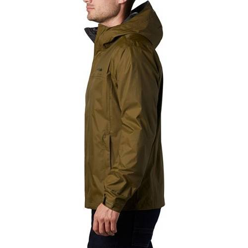コロンビア COLUMBIA オリーブ MEN'S & 【 OLIVE COLUMBIA WATERTIGHT II RAIN JACKET REGULAR AND BIG TALL NEW 】 メンズファッション コート ジャケット