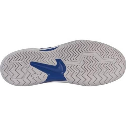 ナイキ NIKE エア ズーム テニス スニーカー 運動靴 灰色 グレ 青 ブルー MEN'S スニーカー 【 AIR ZOOM BLUE NIKE RESISTANCE TENNIS SHOES GREY 】 メンズ スニーカー