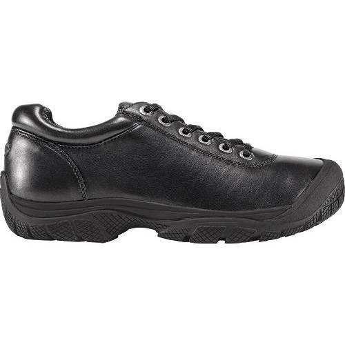 KEEN メンズ ドレス オックスフォード スニーカー 運動靴 【 Mens Ptc Dress Oxford Work Shoes 】 Black