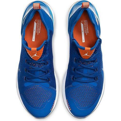 ナイキ ジョーダン JORDAN フロリダ トレーニング スニーカー 運動靴 青 ブルー 橙 オレンジ MEN'S スニーカー 【 BLUE ORANGE JORDAN REACT HAVOC FLORIDA TRAINING SHOES 】 メンズ スニーカー