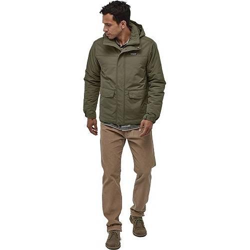 パタゴニア PATAGONIA 緑 グリーン MEN'S 【 GREEN PATAGONIA ISTHMUS INSULATED JACKET INDUSTRIAL 】 メンズファッション コート ジャケット