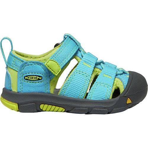 KEEN ベビー 赤ちゃん用 【 TODDLER NEWPORT H2 WATER SANDALS BLUE GREEN 】 キッズ マタニティ 送料無料