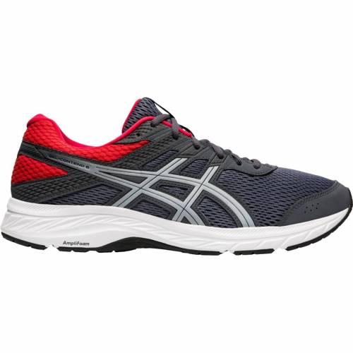 ファッションブランド カジュアル ファッション スニーカー アシックス ASICS 運動靴 灰色 グレー RUNNING メンズ GELCONTEND 評判 6 MEN'S GREY 入荷予定 SHOES