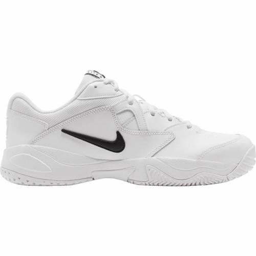 ファッションブランド カジュアル ファッション スニーカー ナイキ NIKE カウント ライト マート テニス 運動靴 白色 ホワイト 黒色 MEN'S 全商品オープニング価格 ブラック メンズ LITE BLACK WHITE 2 TENNIS COURT SHOES