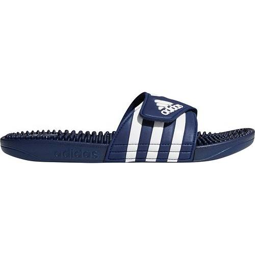アディダス ADIDAS メンズ スニーカー 【 Mens Adissage Slides 】 Blue/white