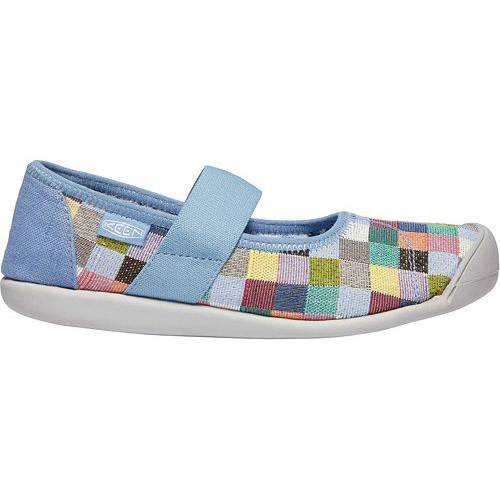 KEEN レディース WOMEN'S スニーカー 【 SIENNA CANVAS MULTI MARY JANES QUIET HARBOR 】 送料無料