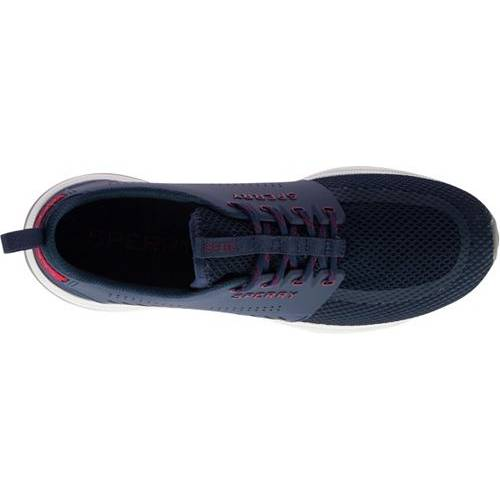 SPERRY TOP-SIDER スニーカー 運動靴 紺 ネイビー MEN'S スニーカー 【 NAVY SPERRY TOPSIDER H2O SKIFF CASUAL SHOES 】 メンズ スニーカー