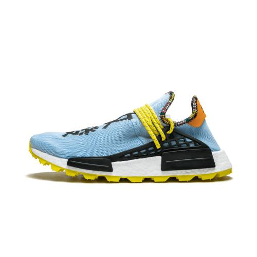 "アディダス ADIDAS 青 ブルー NMD""INSPIRATION SKY"" スニーカー 【 BLUE ADIDAS PW SOLAR HU PACK CLEAR 】 メンズ スニーカー"