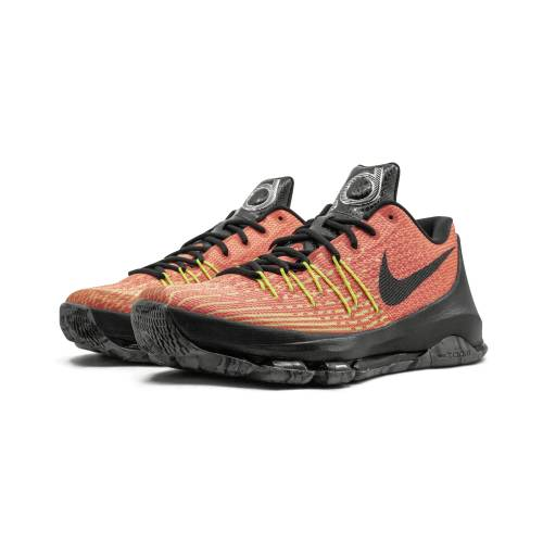 "ナイキ NIKE 橙 オレンジ 8""HUNT'S SUNRISE"" スニーカー 【 ORANGE NIKE KD HILL TOTAL BLACKVOLTBRIGHT 】 メンズ スニーカー"
