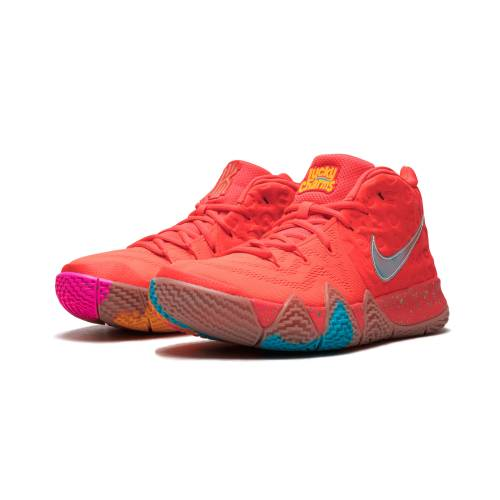 "ナイキ NIKE カイリー 4""LUCKY "" スニーカー 【 KYRIE NIKE CHARMS REGULAR BOX BRIGHT CRIMSON MULTICOLOR 】 メンズ スニーカー"