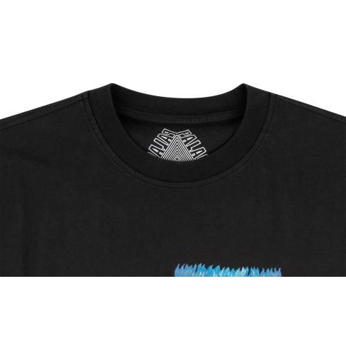 PALACE Tシャツ 黒 ブラック 【 BLACK PALACE BURB TSHIRT 】 メンズファッション トップス Tシャツ カットソー